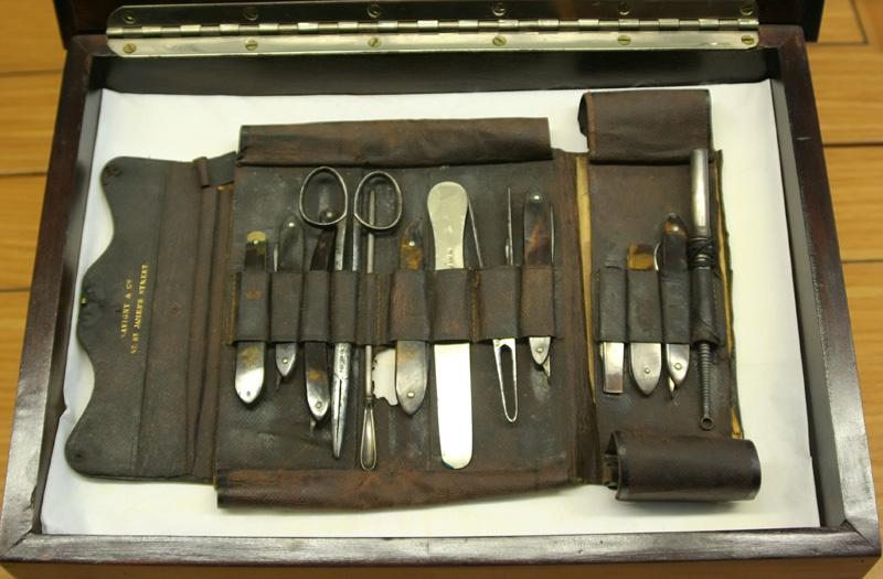 Pocket case of medical instruments owned by David Livingstone