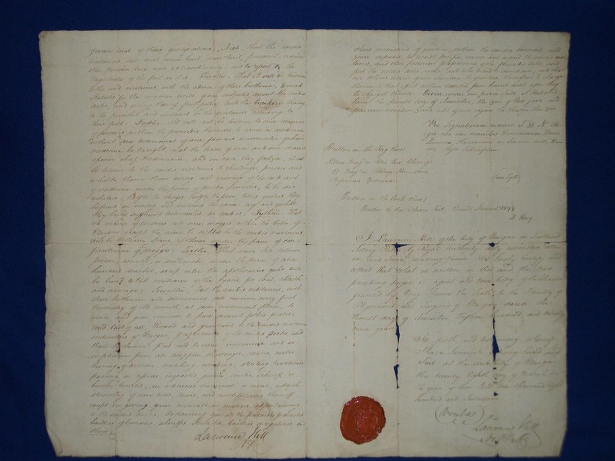 The Charter of 1599