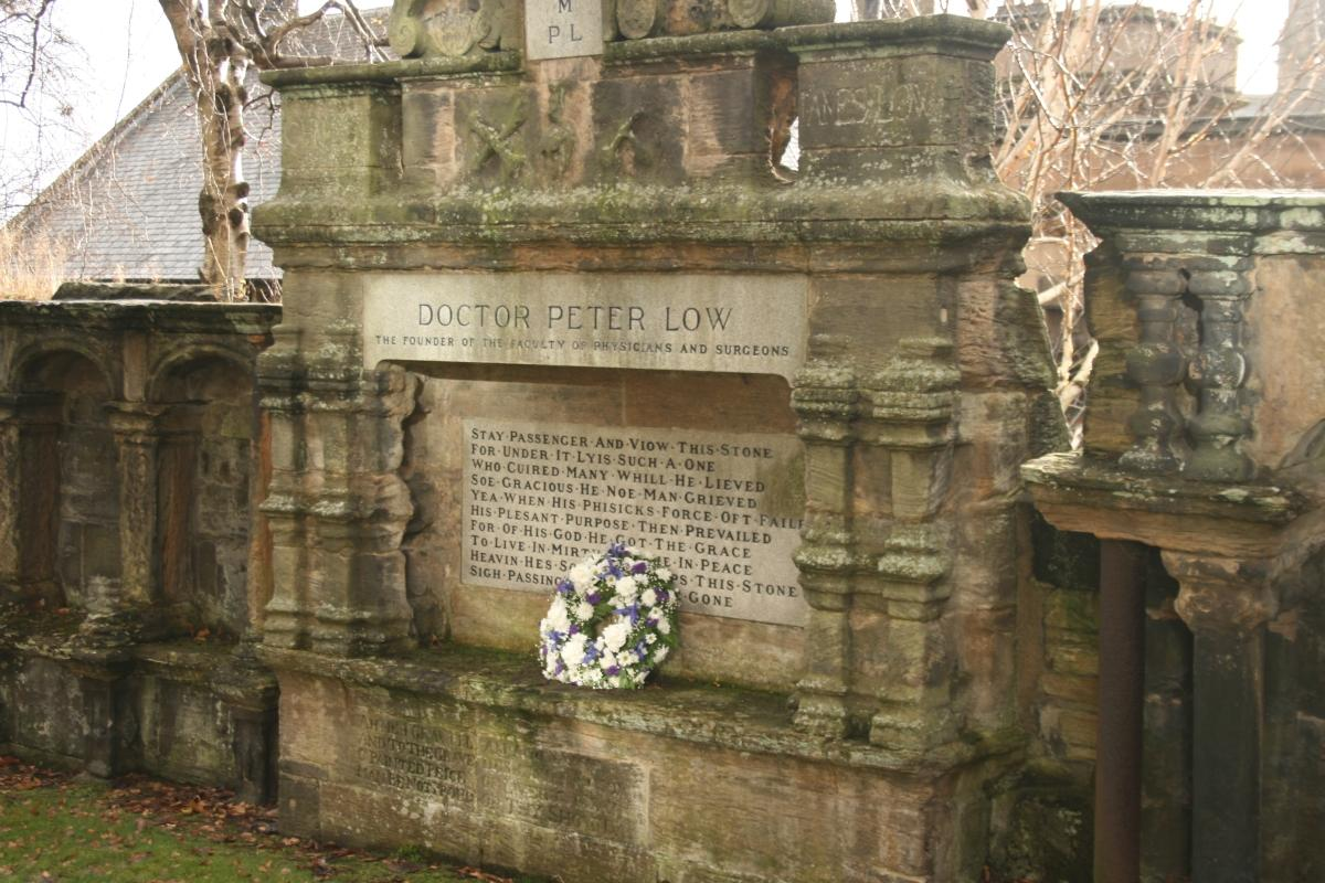 The Tomb of Peter Lowe