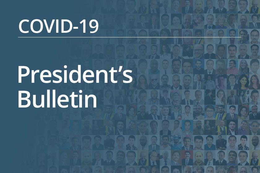 President's Bulletin