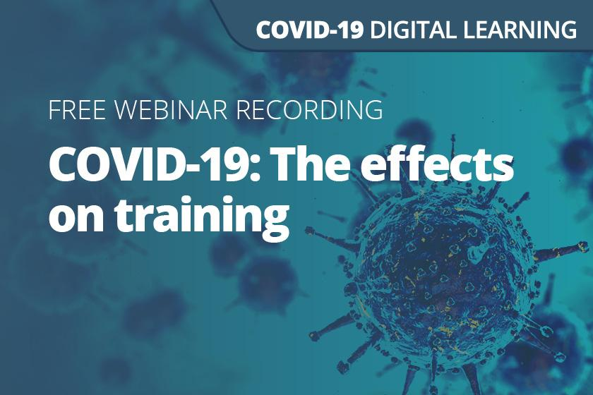 COVID-19: The effects on training