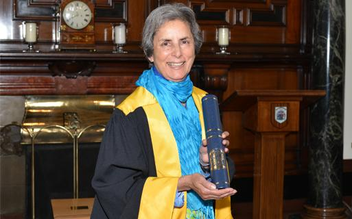 Royal College Honours Professor Dame Parveen Kumar