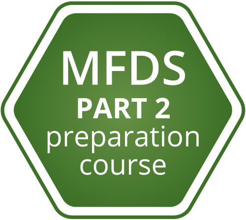 MFDS part 2 preparation course