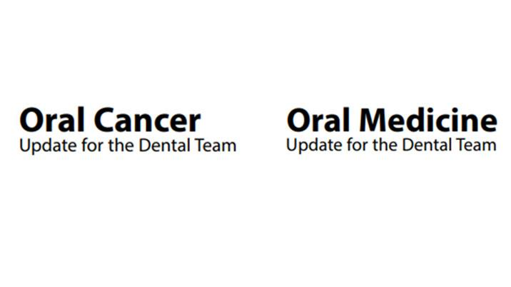 Free access to 2 Dental Update Books:  Oral Cancer Update for the Dental Team and Oral Medicine Update for the Dental Team